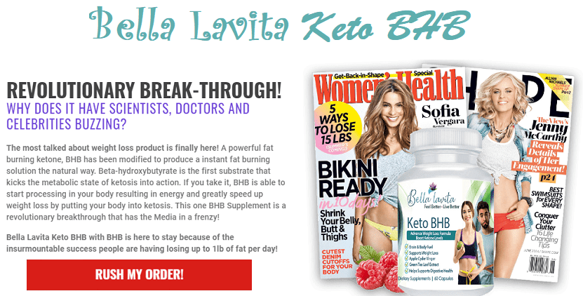 Bella Lavita Keto BHB Reviews